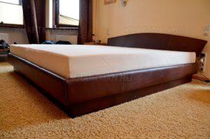Кровать после перетяжки
